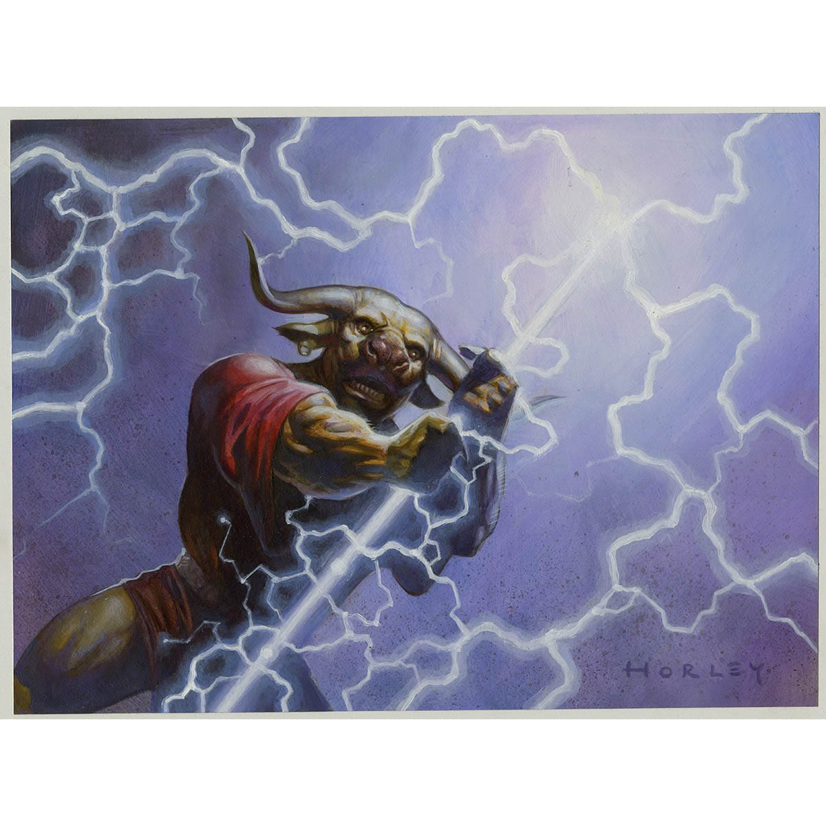 Anaba Shaman Print - Print - Original Magic Art - Accessories for Magic the Gathering and other card games