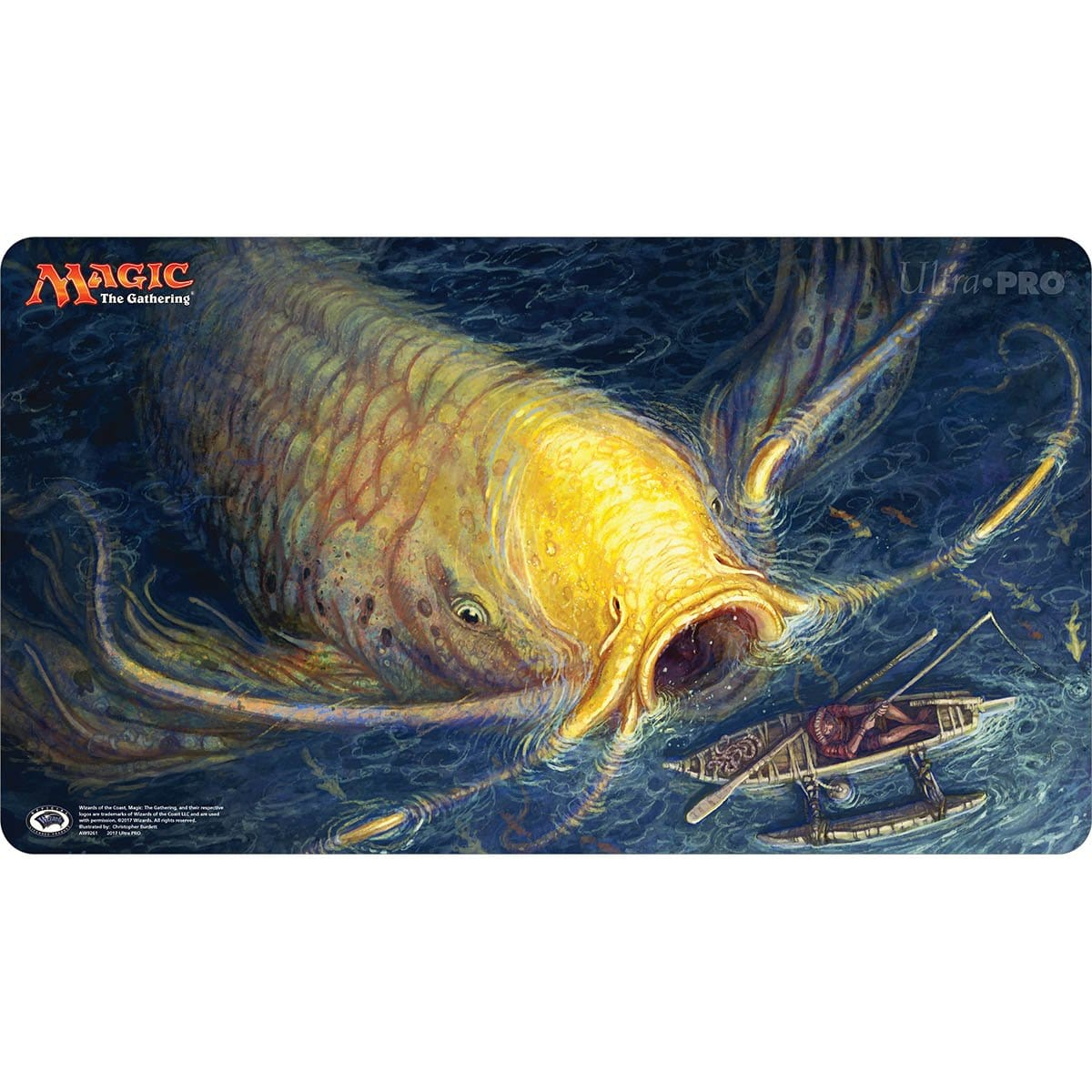 Ancient Carp Playmat - Playmat - Original Magic Art - Accessories for Magic the Gathering and other card games