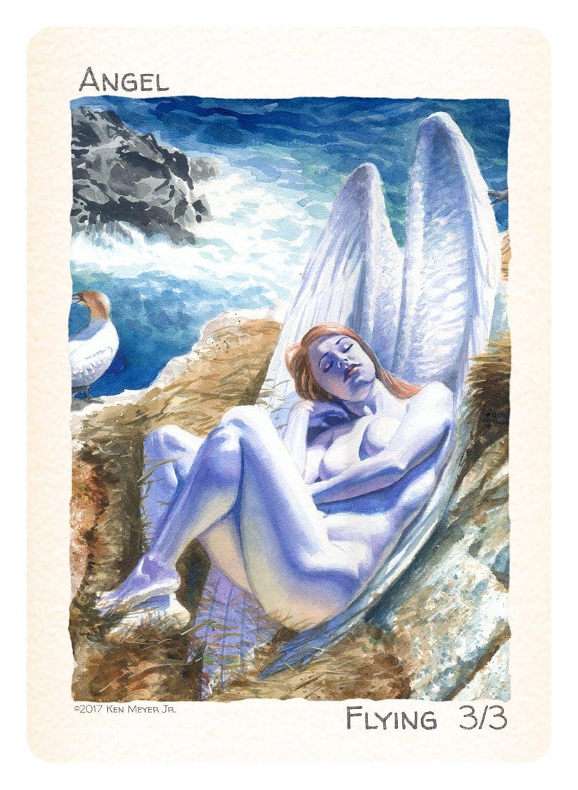 Angel Token (3/3 - Flying) by Ken Meyer Jr.