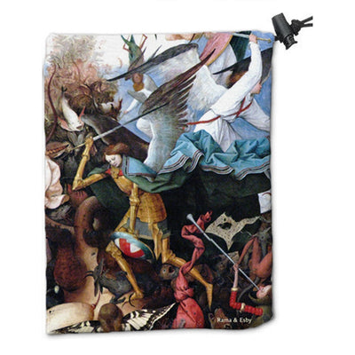 Angel Dice Bag by Pieter Bruegel the Elder - Dice Bag - Original Magic Art - Accessories for Magic the Gathering and other card games