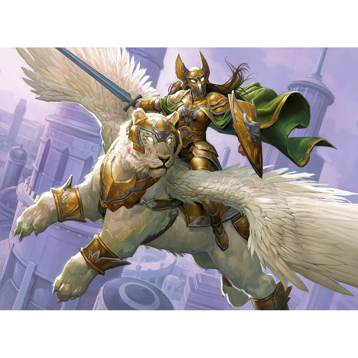 Archon of Valor's Reach Print