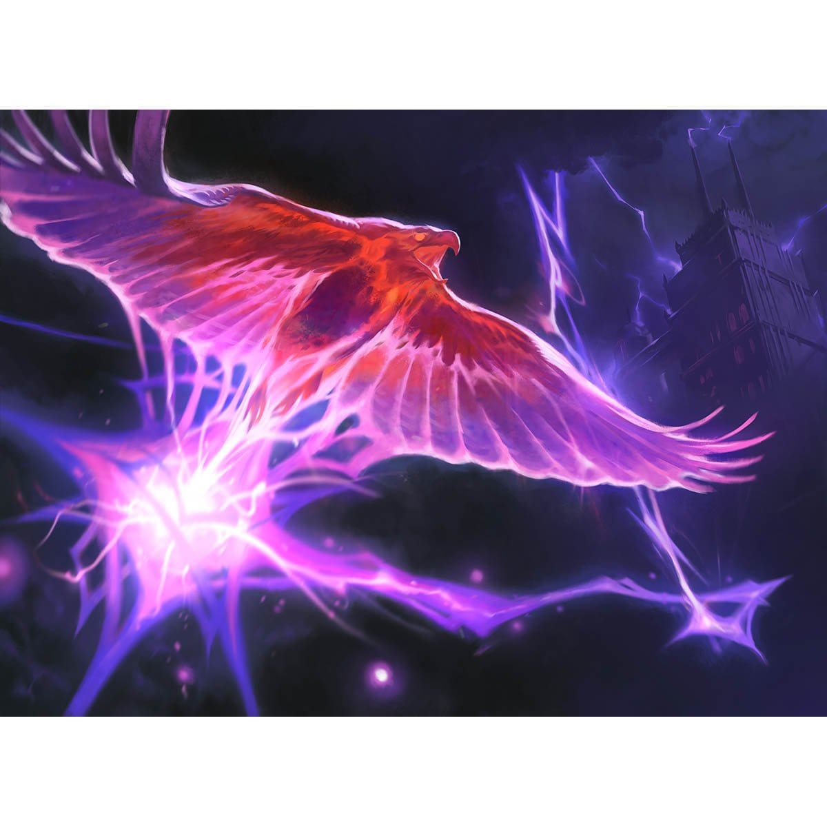 Arclight Phoenix Print - Print - Original Magic Art - Accessories for Magic the Gathering and other card games