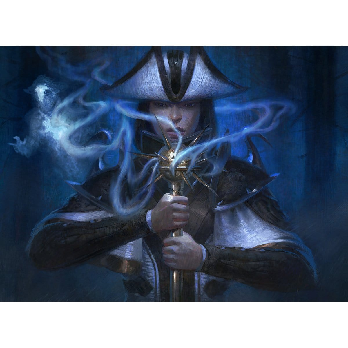 Thalia's Geistcaller Print - Print - Original Magic Art - Accessories for Magic the Gathering and other card games