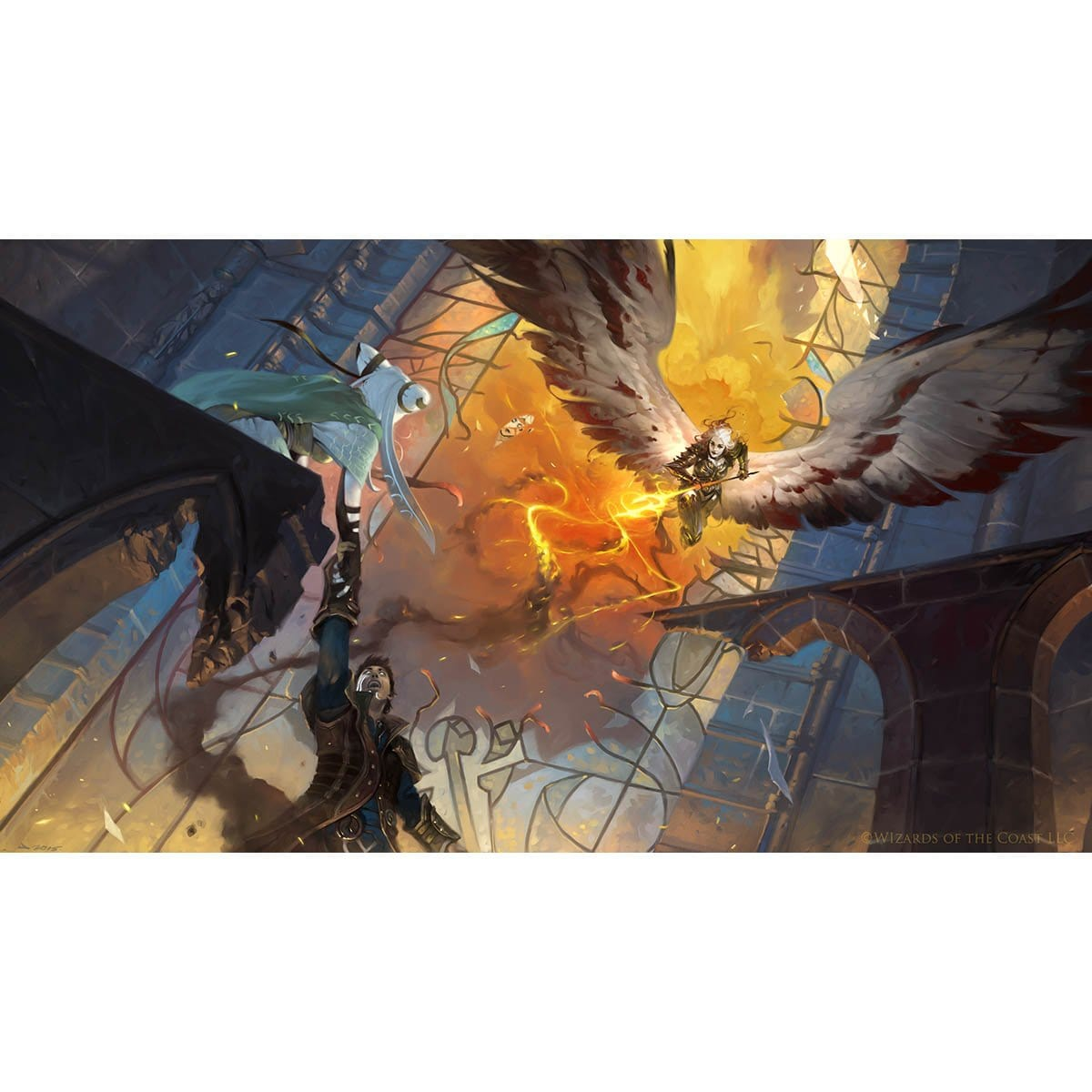 Avacyn's Judgement Print - Print - Original Magic Art - Accessories for Magic the Gathering and other card games