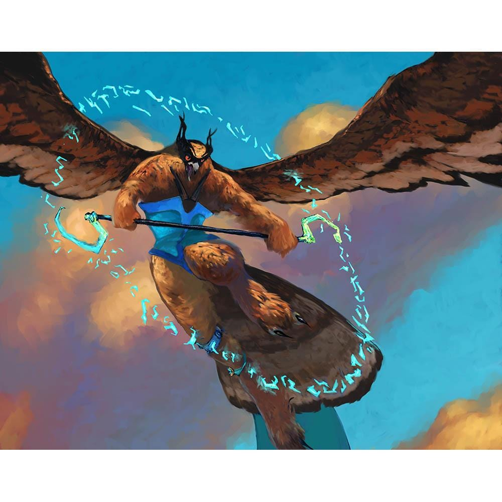 Aven Fateshaper Print - Print - Original Magic Art - Accessories for Magic the Gathering and other card games