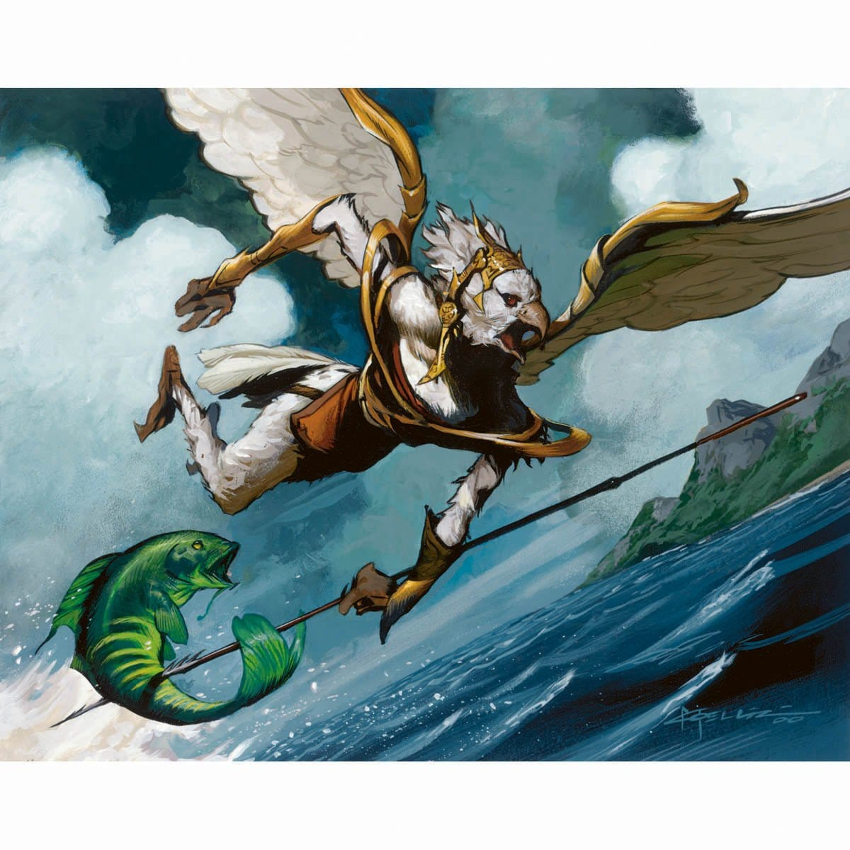 Aven Fisher Print - Print - Original Magic Art - Accessories for Magic the Gathering and other card games