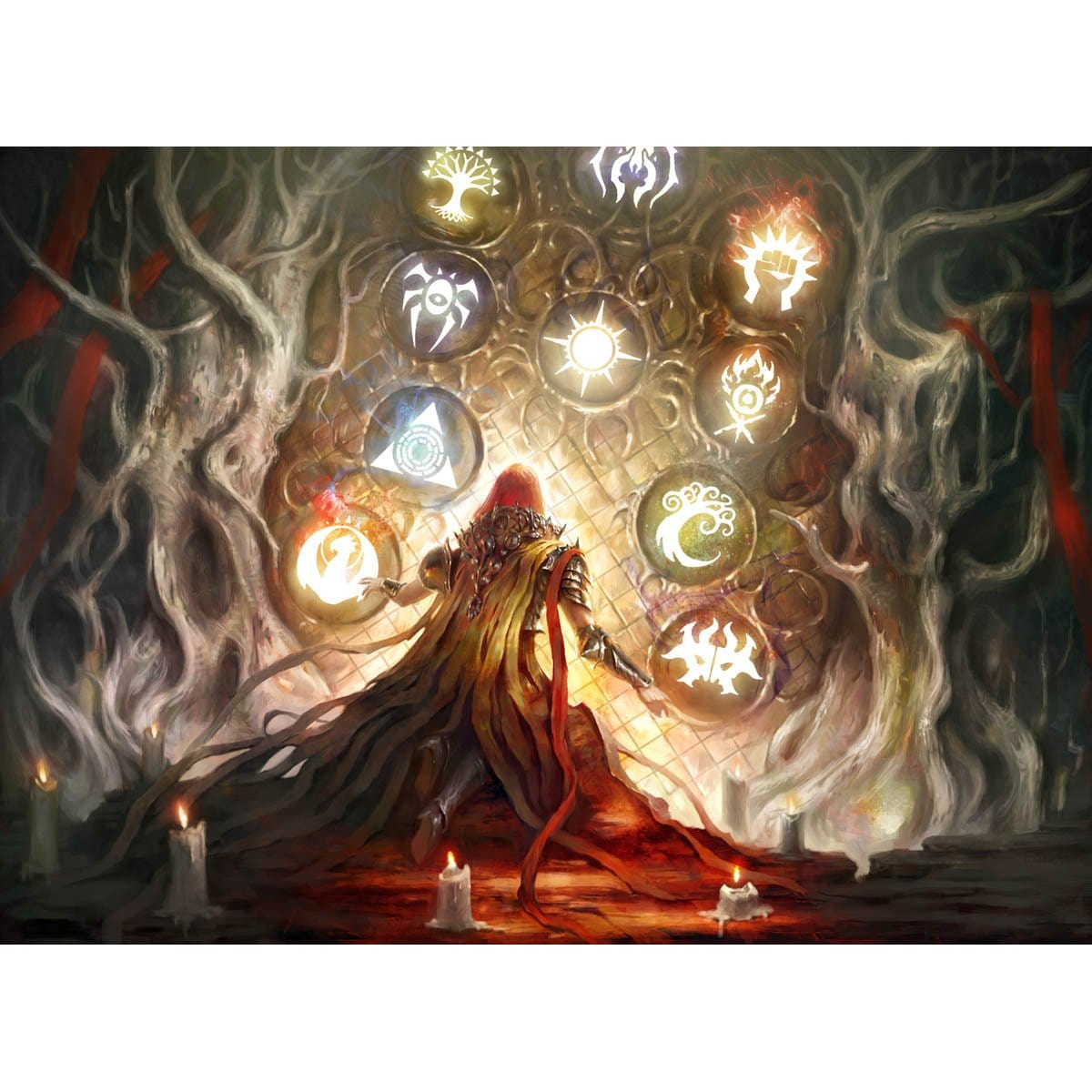 Awe for the Guilds Print - Print - Original Magic Art - Accessories for Magic the Gathering and other card games