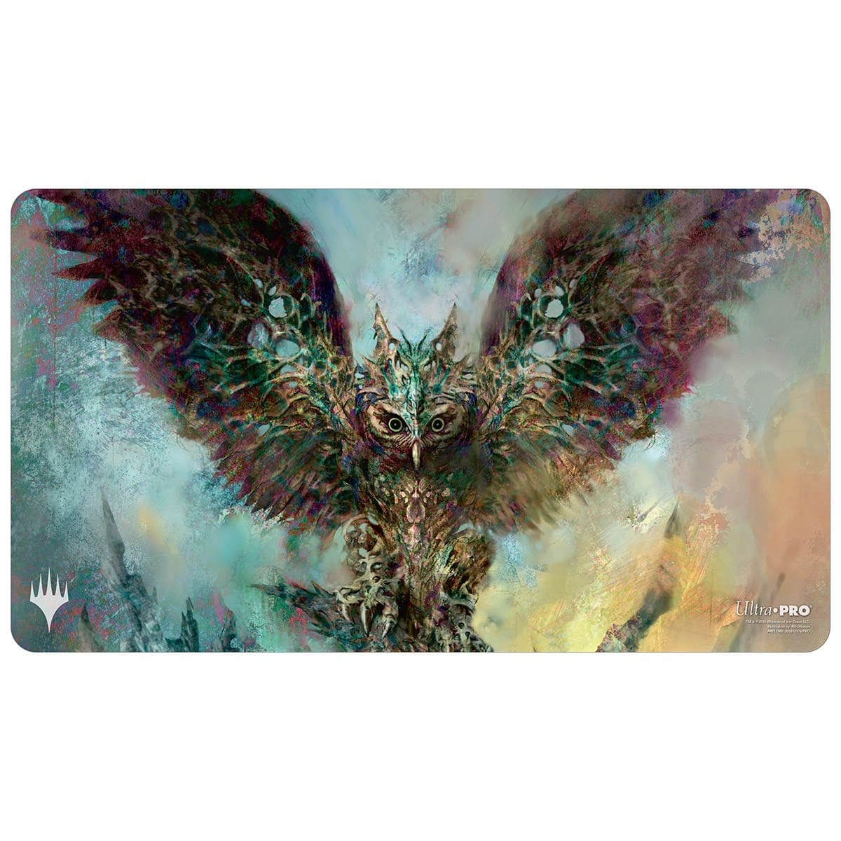 Baleful Strix Playmat - Playmat - Original Magic Art - Accessories for Magic the Gathering and other card games