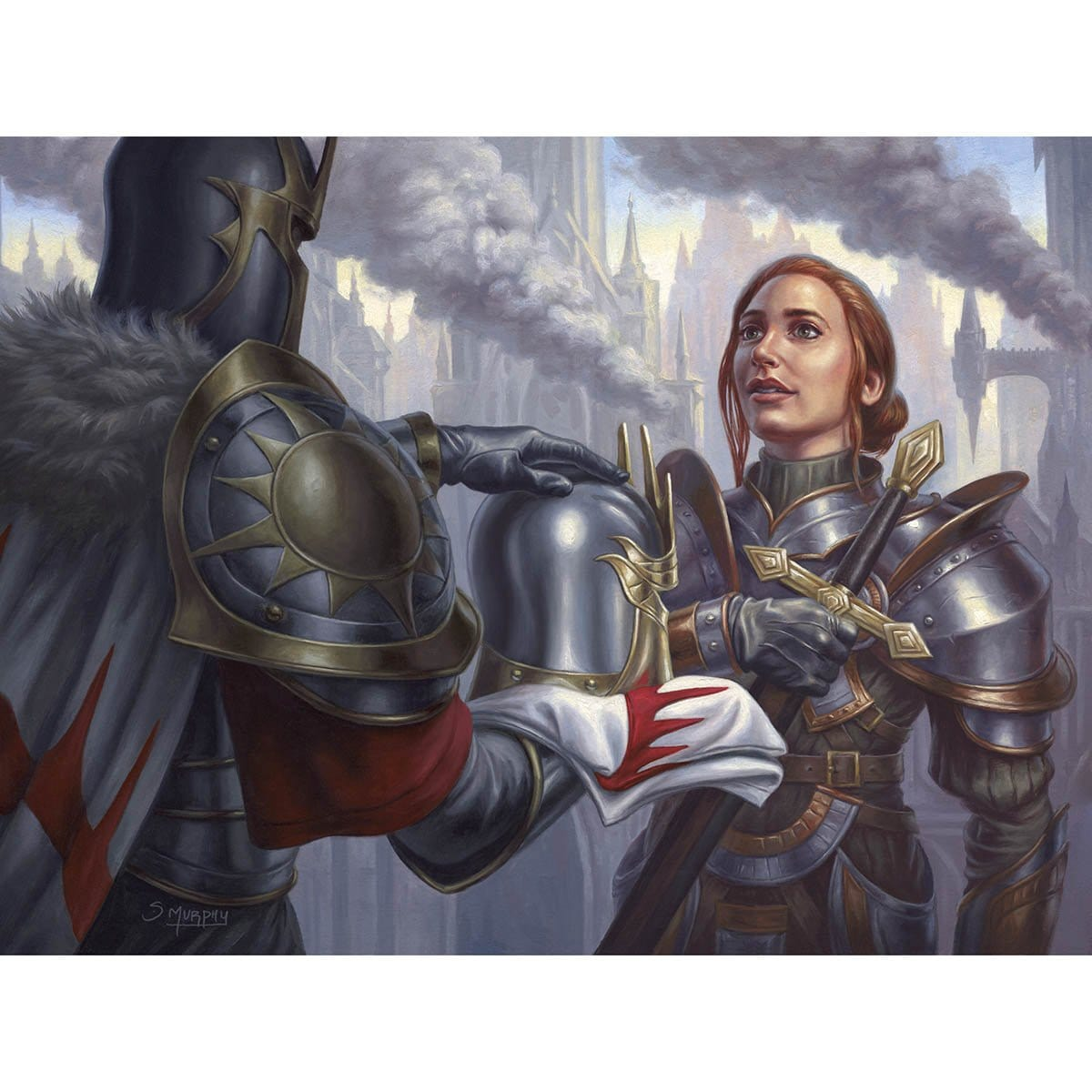Battlefield Promotion Print - Print - Original Magic Art - Accessories for Magic the Gathering and other card games