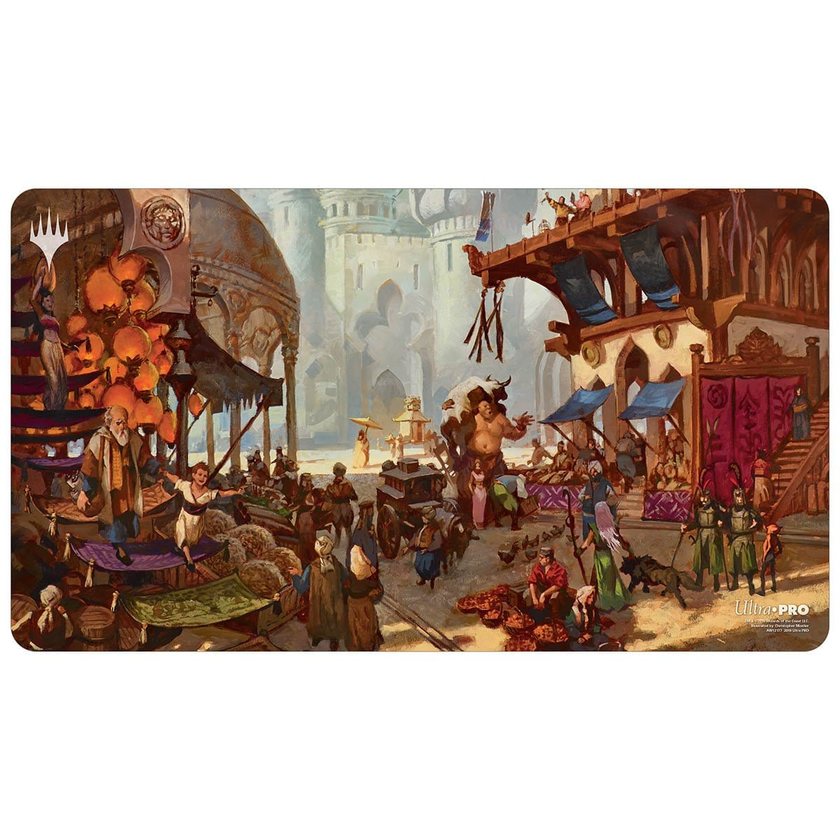 Bazaar of Baghdad Playmat - Playmat - Original Magic Art - Accessories for Magic the Gathering and other card games