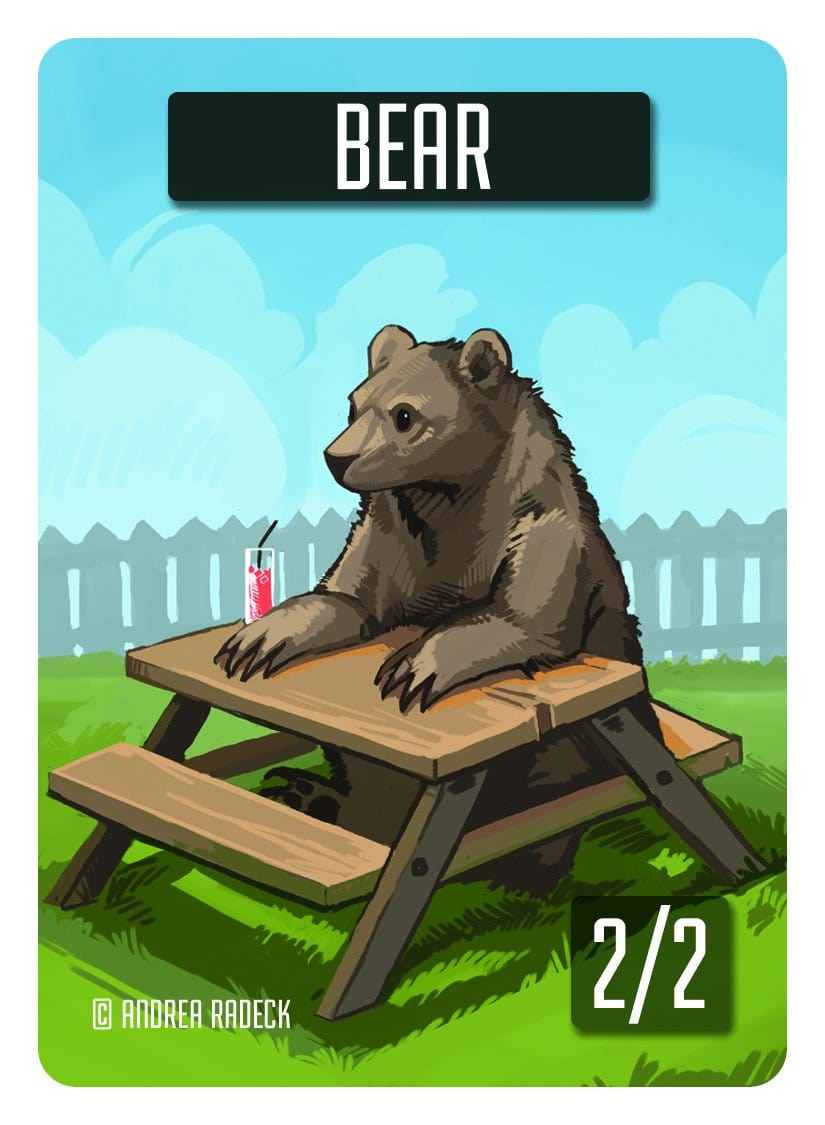 Bear Token (2/2) by Andrea Radeck