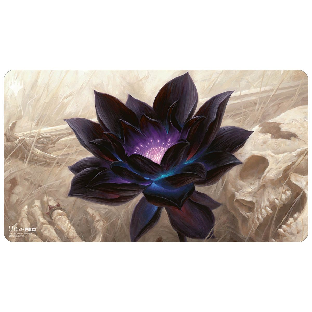 Black Lotus Playmat - Playmat - Original Magic Art - Accessories for Magic the Gathering and other card games