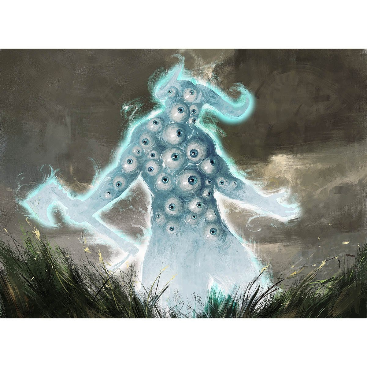 Blink of an Eye Print - Print - Original Magic Art - Accessories for Magic the Gathering and other card games