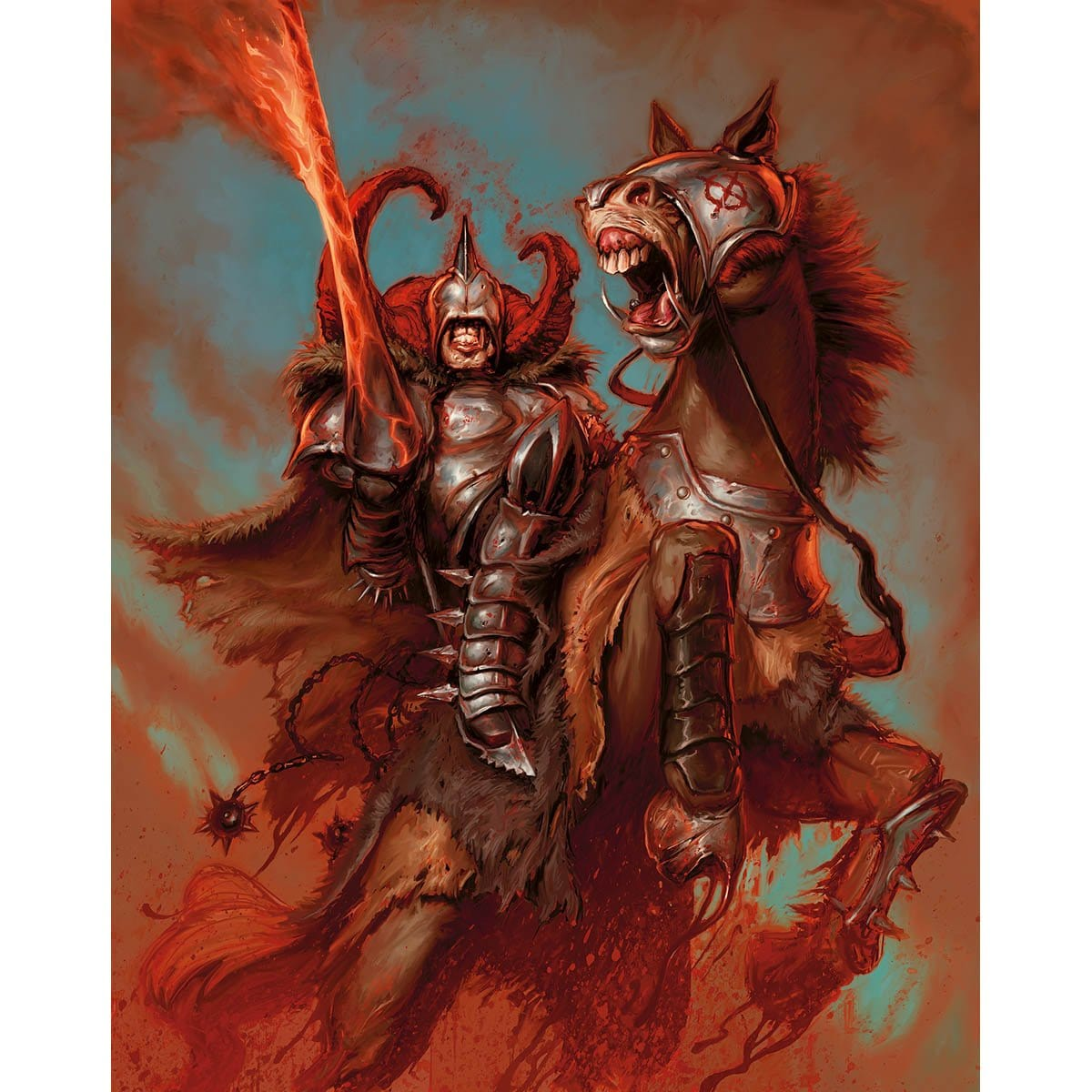 Blood Knight Print