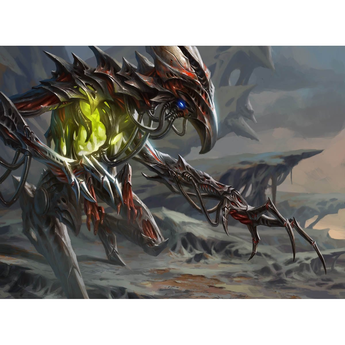 Brudiclad, Telchor Engineer Print - Print - Original Magic Art - Accessories for Magic the Gathering and other card games