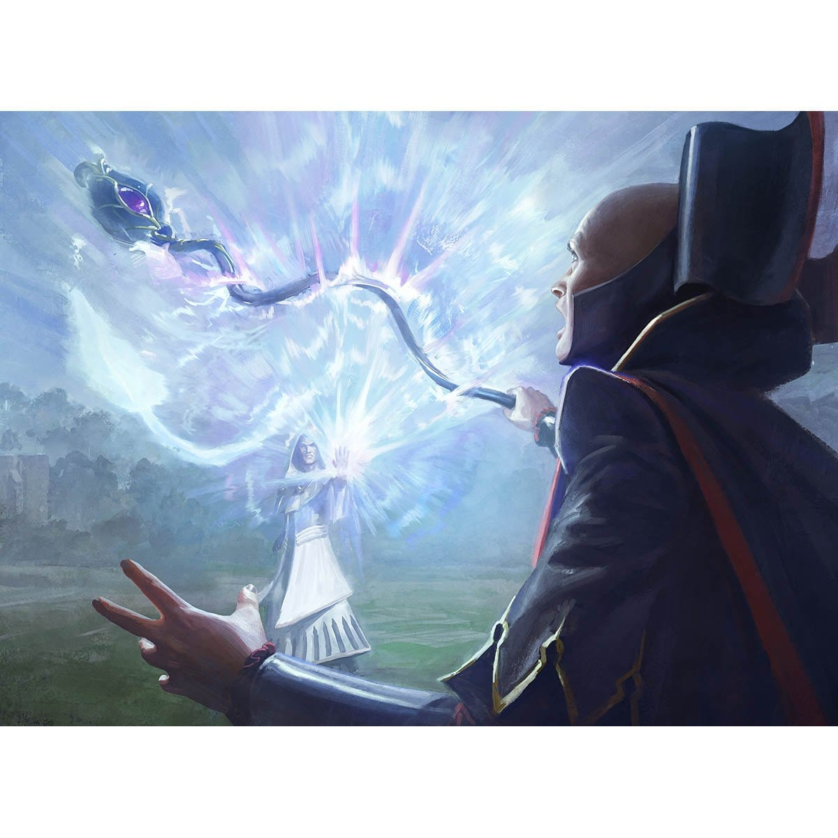 Ray of Distortion Print - Print - Original Magic Art - Accessories for Magic the Gathering and other card games