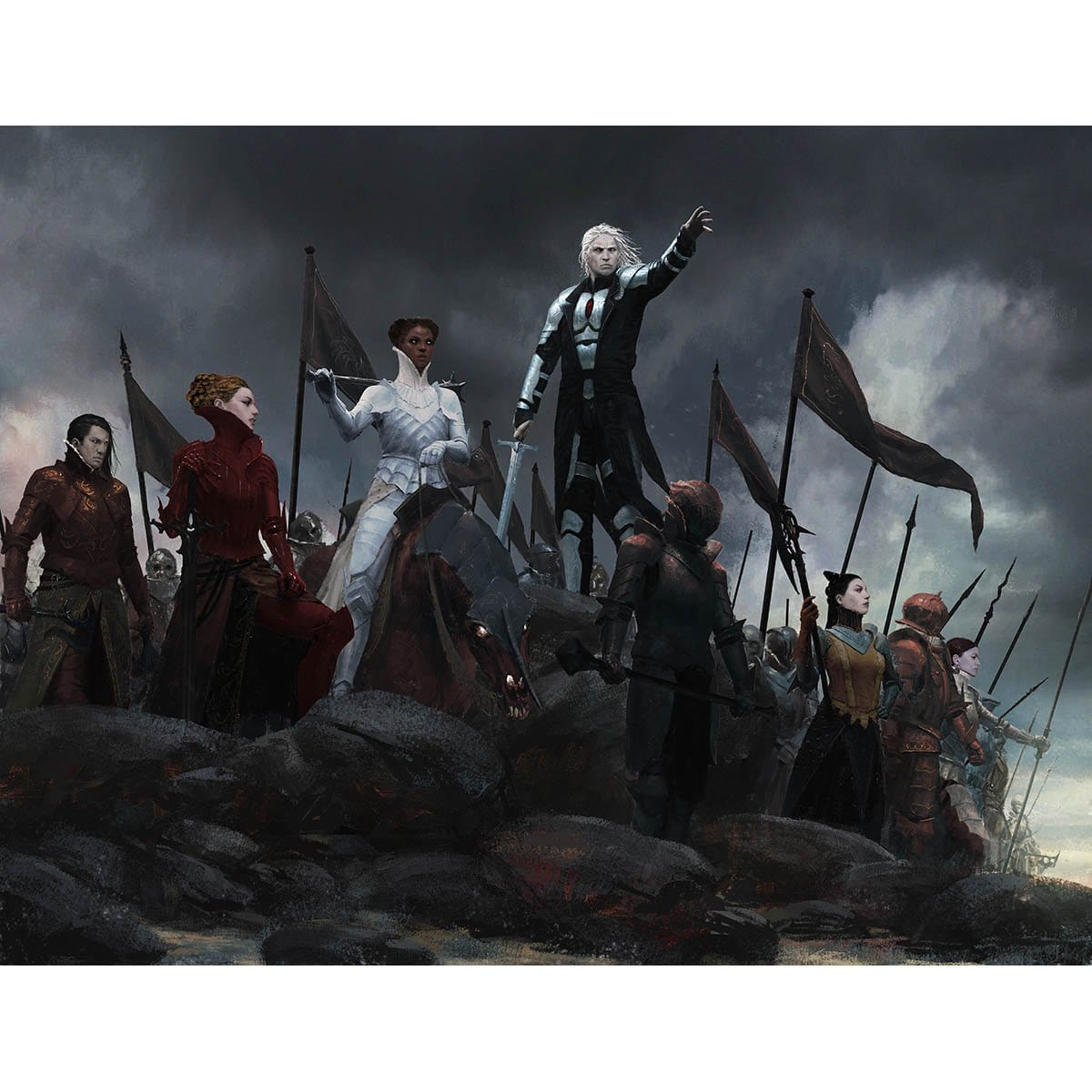 Campaign of Vengeance Print