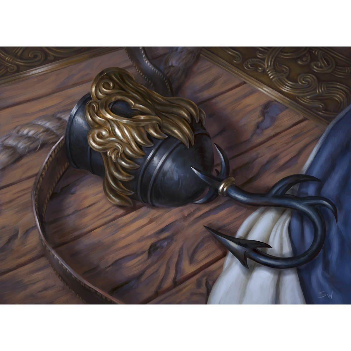 Captain's Hook Print - Print - Original Magic Art - Accessories for Magic the Gathering and other card games