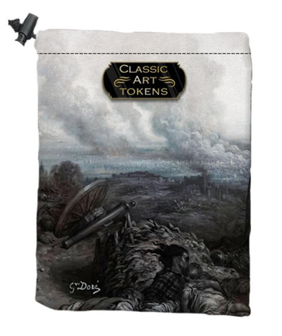 Carnage Dice Bag by Gustave Doré - Dice Bag - Original Magic Art - Accessories for Magic the Gathering and other card games