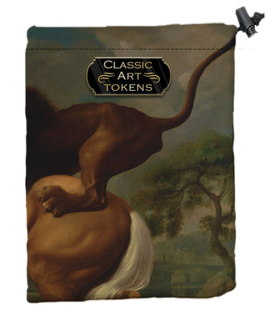 Carnivore Dice Bag by George Stubbs