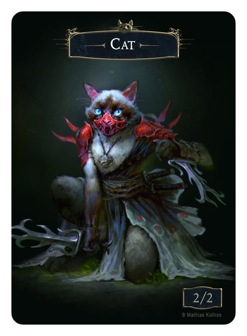 Cat Token (2/2) by Mathias Kollros