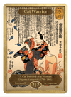 Cat Warrior Token (2/2 - F) by Utagawa Kuniyoshi - Token - Original Magic Art - Accessories for Magic the Gathering and other card games