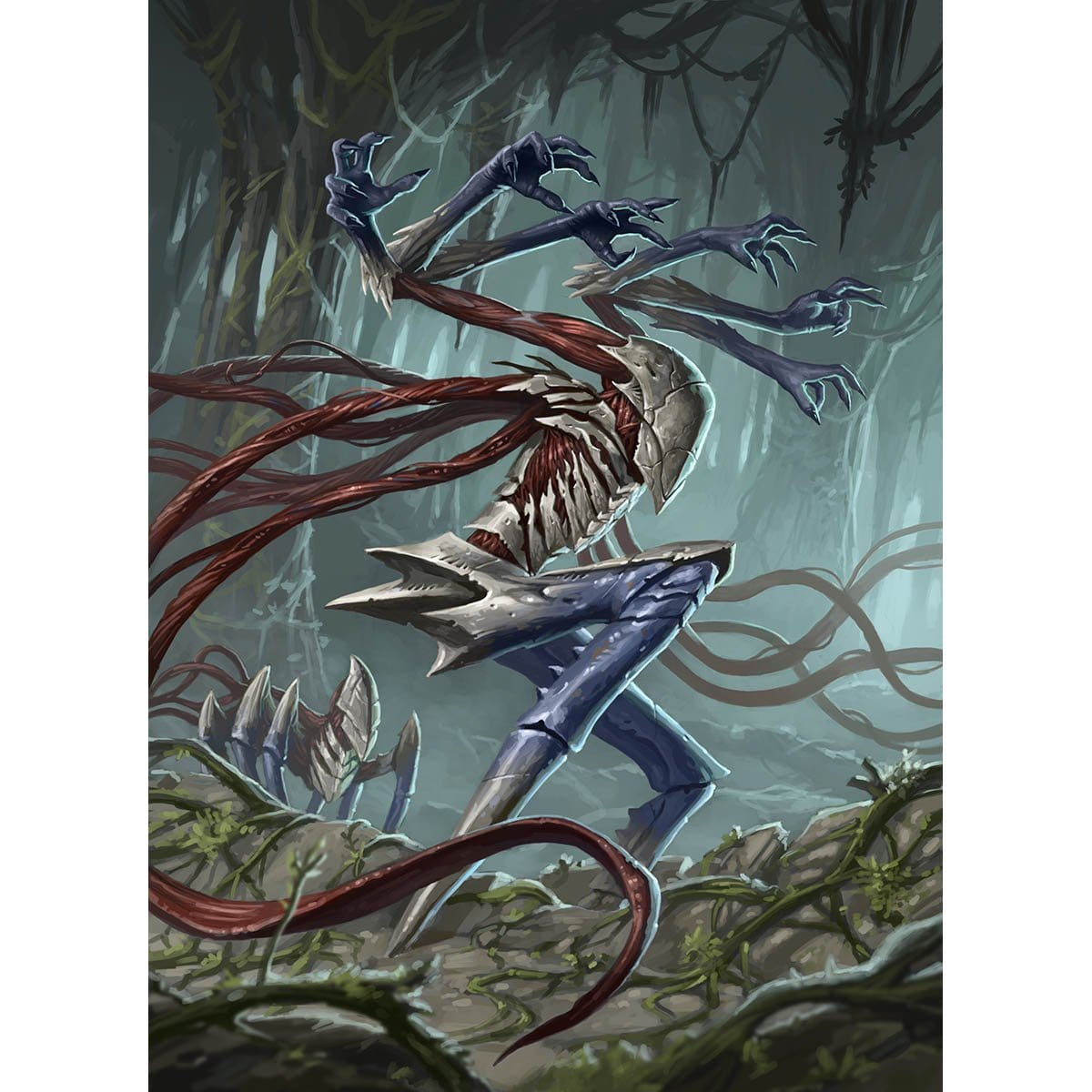 Catacomb Sifter Print - Print - Original Magic Art - Accessories for Magic the Gathering and other card games