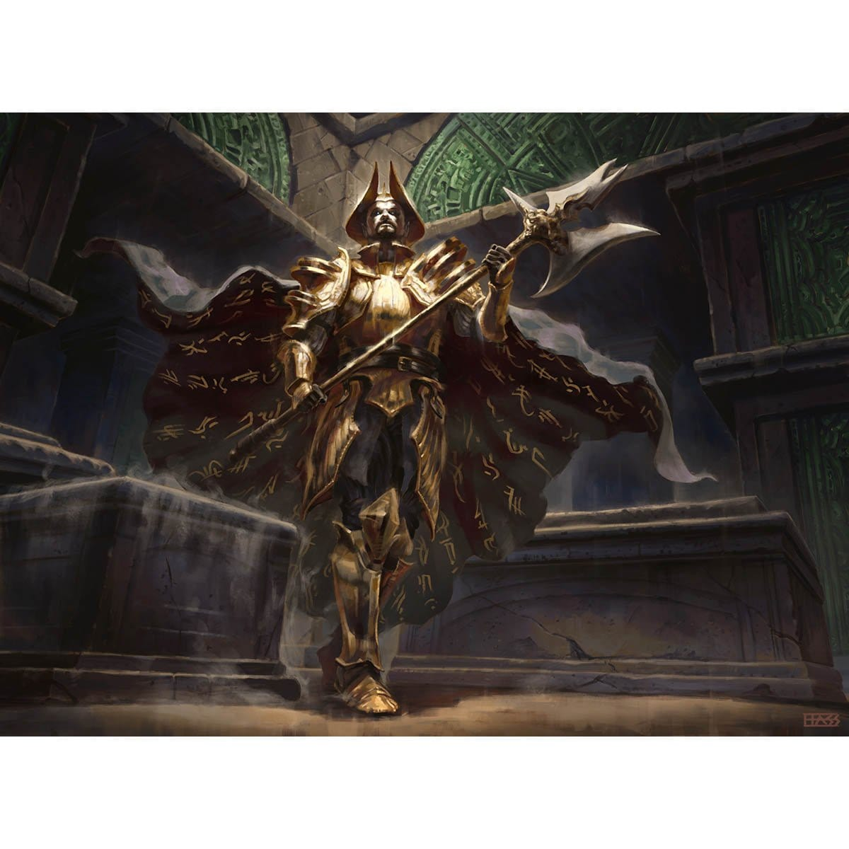 Champion of Dusk Print - Print - Original Magic Art - Accessories for Magic the Gathering and other card games