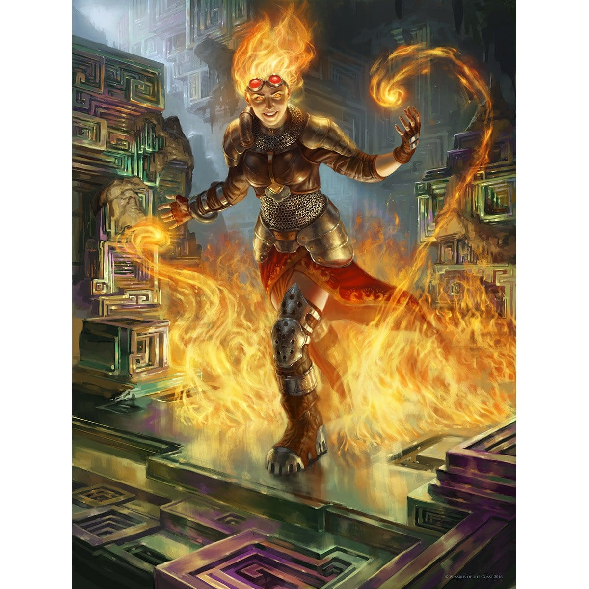 Chandra, Flamecaller Print