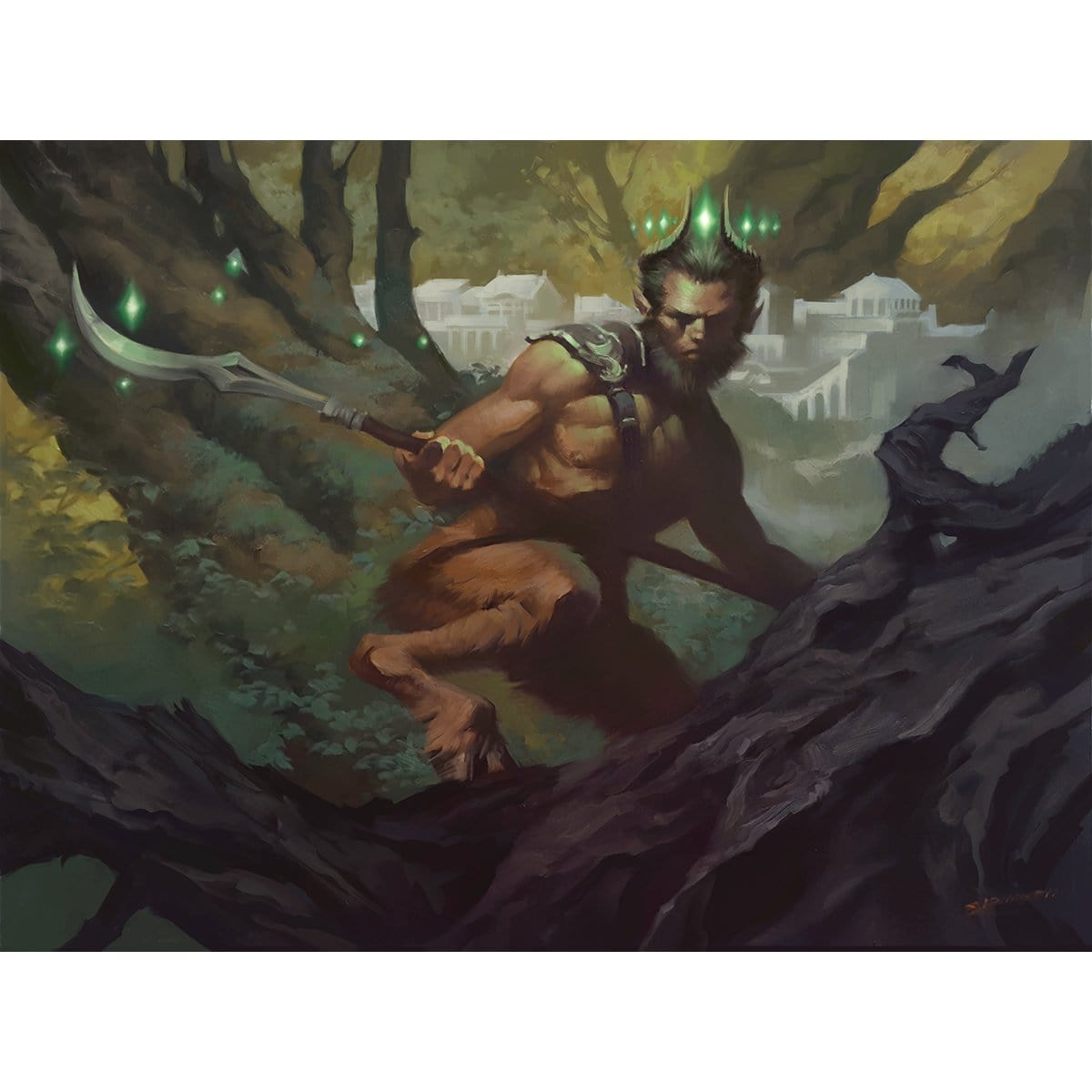 Satyr Enchanter Print