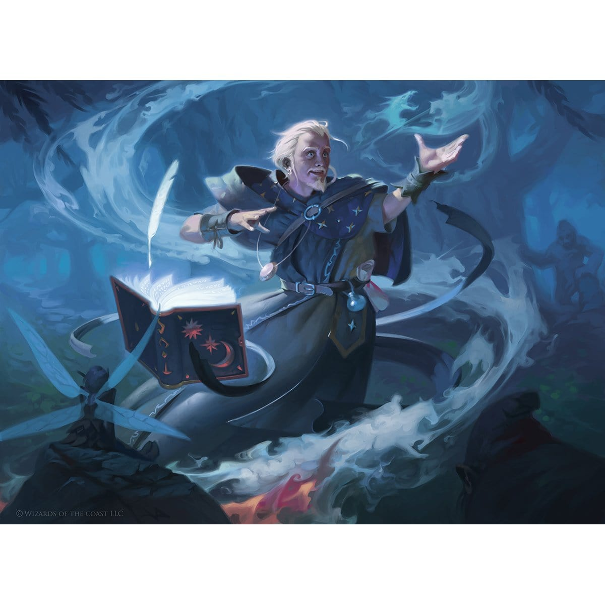 Chulane, Teller of Tales Print - Print - Original Magic Art - Accessories for Magic the Gathering and other card games