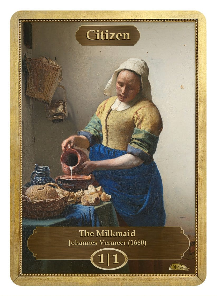 Citizen Token (1/1) by Johannes Vermeer