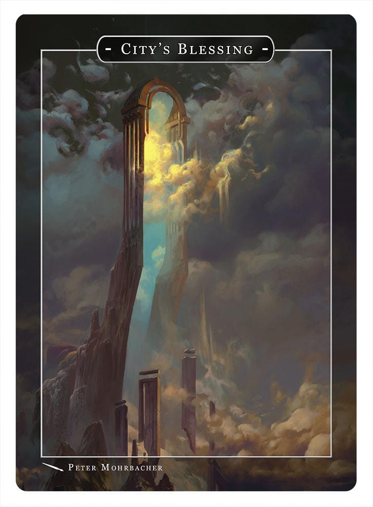 City's Blessing Token by Peter Mohrbacher