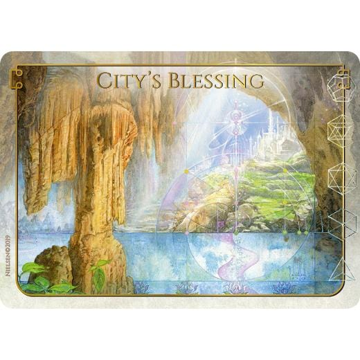 City's Blessing Token by Tokens of Spirit