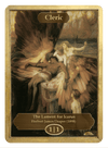 Cleric Token (1/1) by Herbert James Draper - Token - Original Magic Art - Accessories for Magic the Gathering and other card games