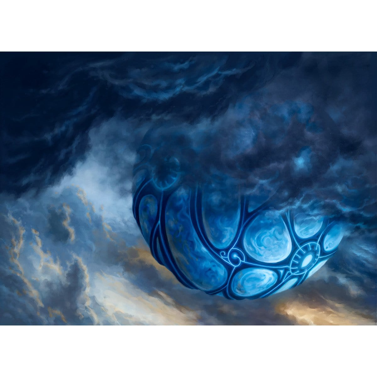 Cloudpost Print - Print - Original Magic Art - Accessories for Magic the Gathering and other card games