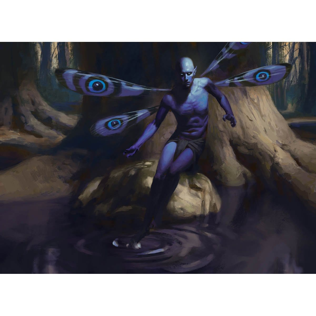 Faerie Seer Print - Print - Original Magic Art - Accessories for Magic the Gathering and other card games