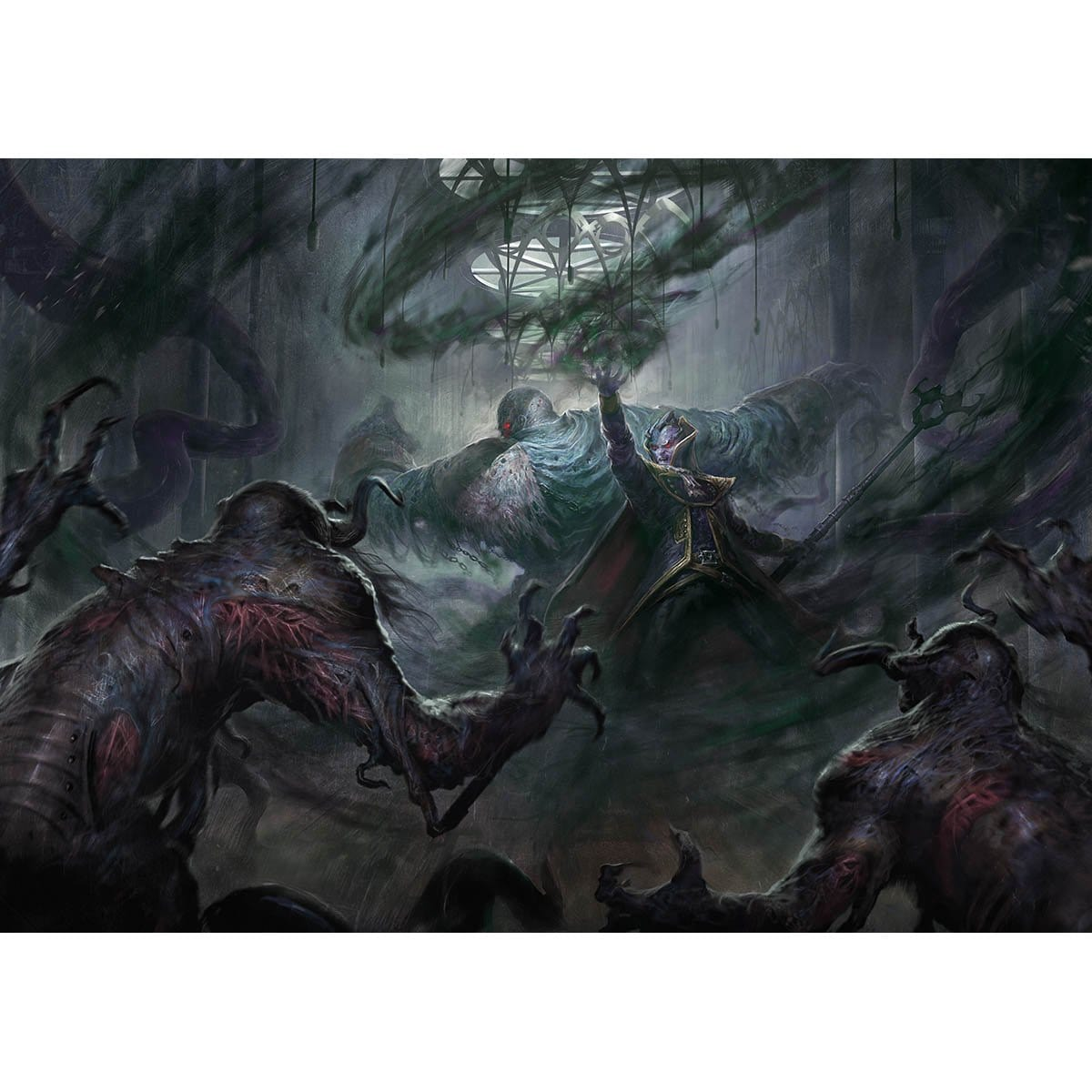 Collective Brutality Print - Print - Original Magic Art - Accessories for Magic the Gathering and other card games