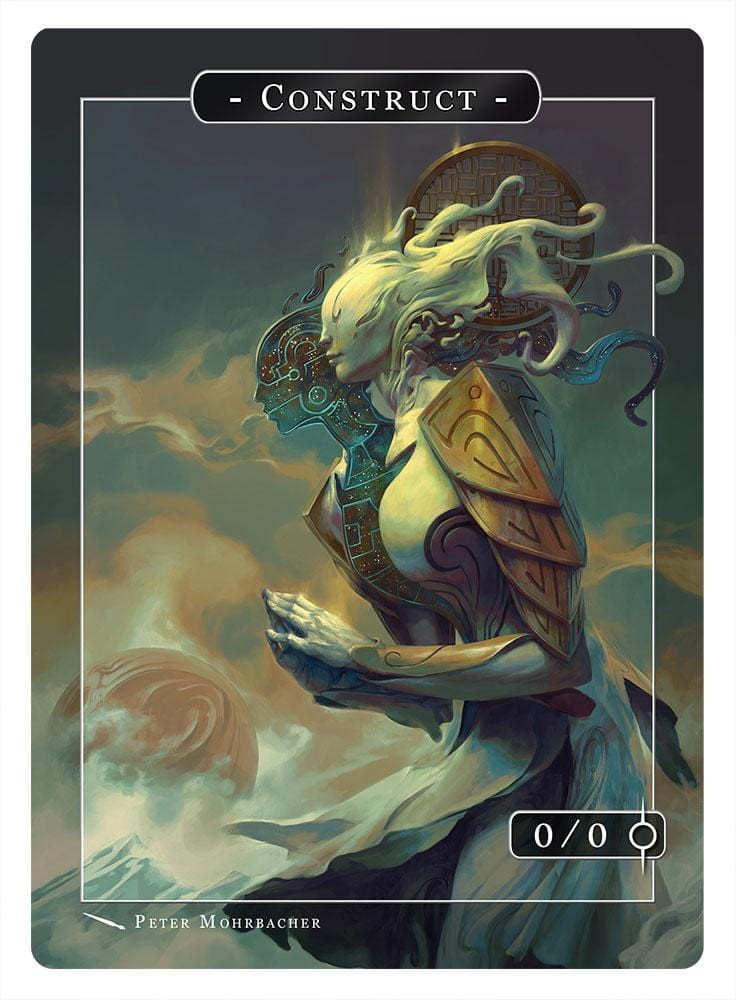 Construct Token (0/0) by Peter Mohrbacher