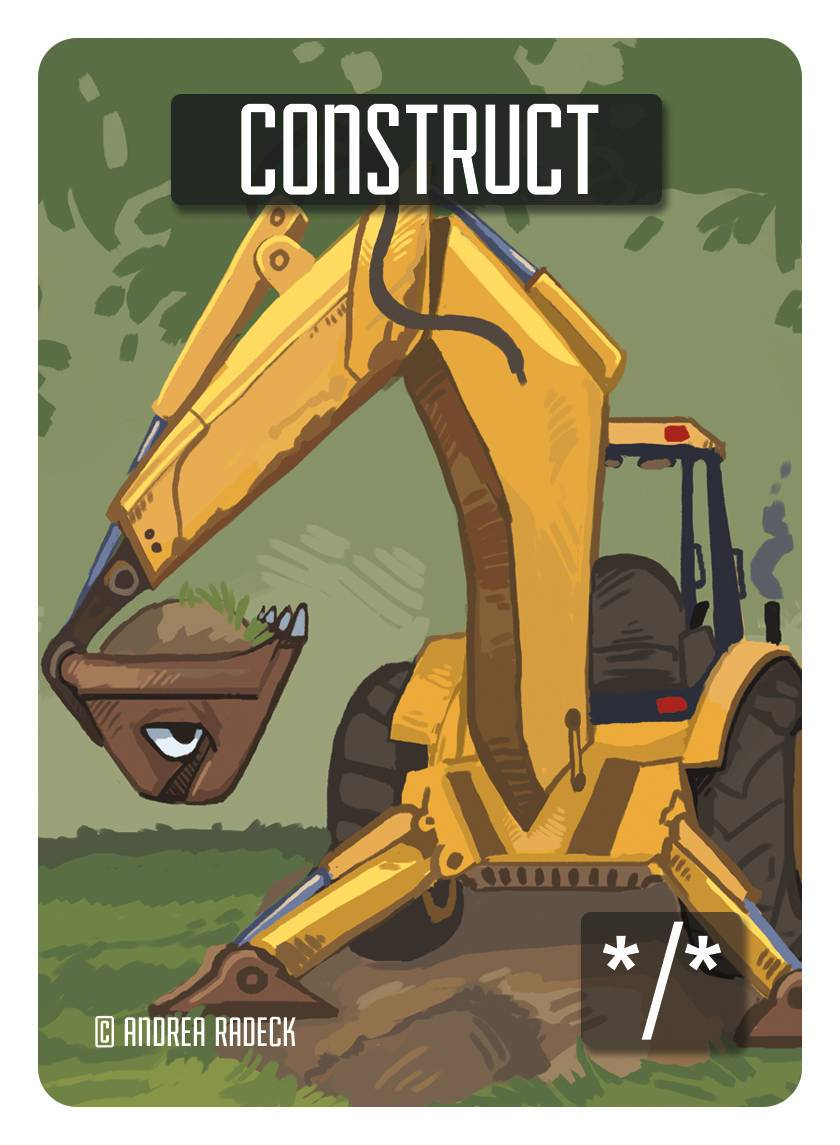 Construct Token (*/*) by Andrea Radeck