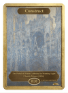 Construct Token (0/0) by Claude Monet - Token - Original Magic Art - Accessories for Magic the Gathering and other card games