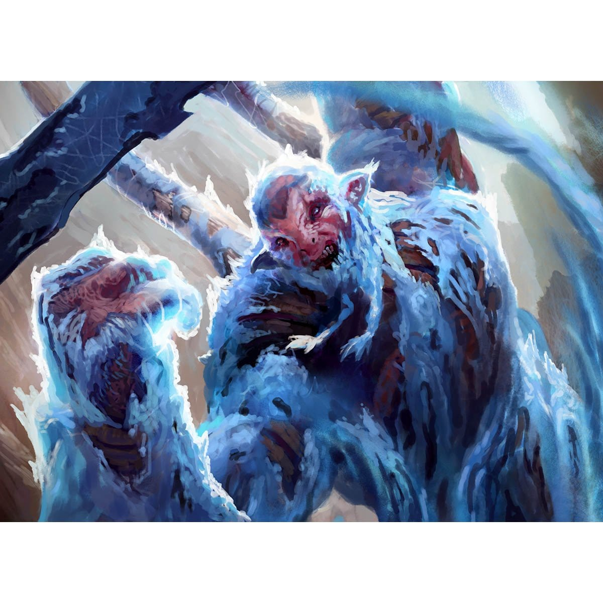 Crippling Chill Print - Print - Original Magic Art - Accessories for Magic the Gathering and other card games