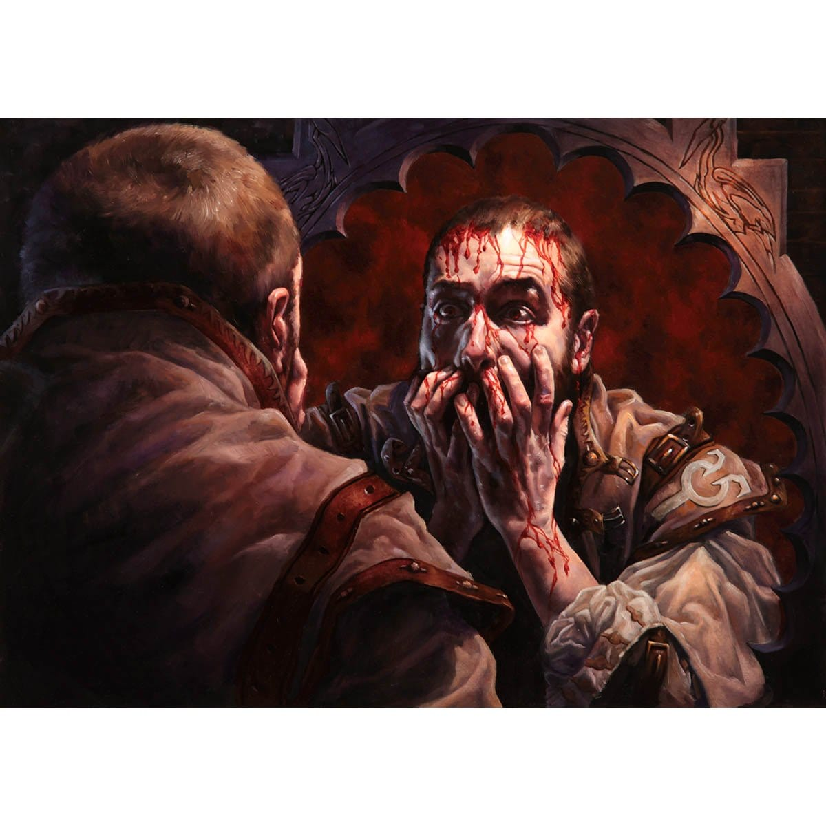 Curse of Bloodletting Print - Print - Original Magic Art - Accessories for Magic the Gathering and other card games