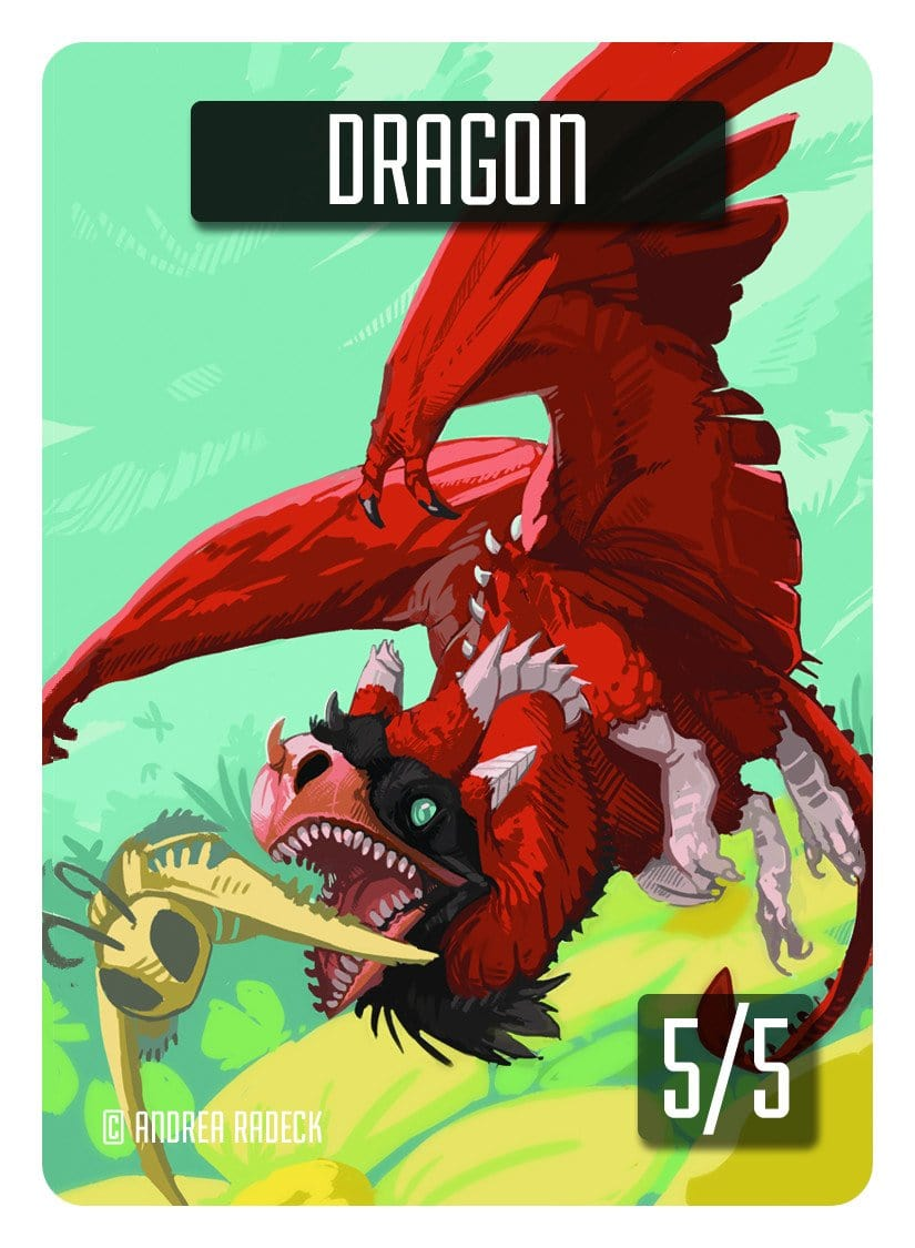 Dragon Token (5/5) by Andrea Radeck