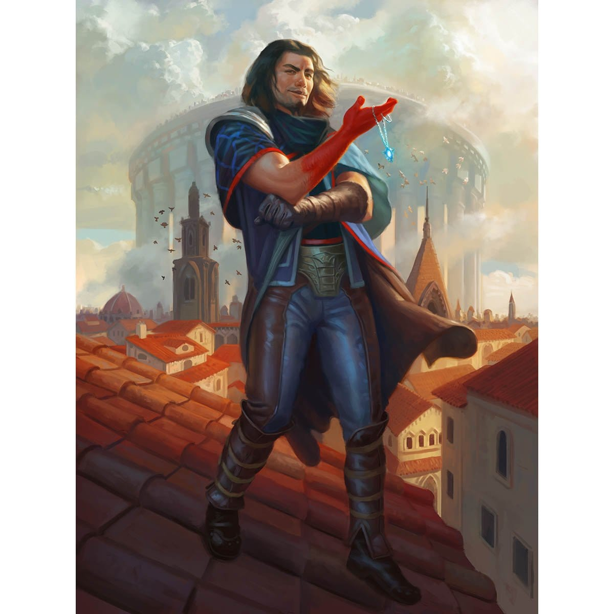 Dack Fayden Print - Print - Original Magic Art - Accessories for Magic the Gathering and other card games