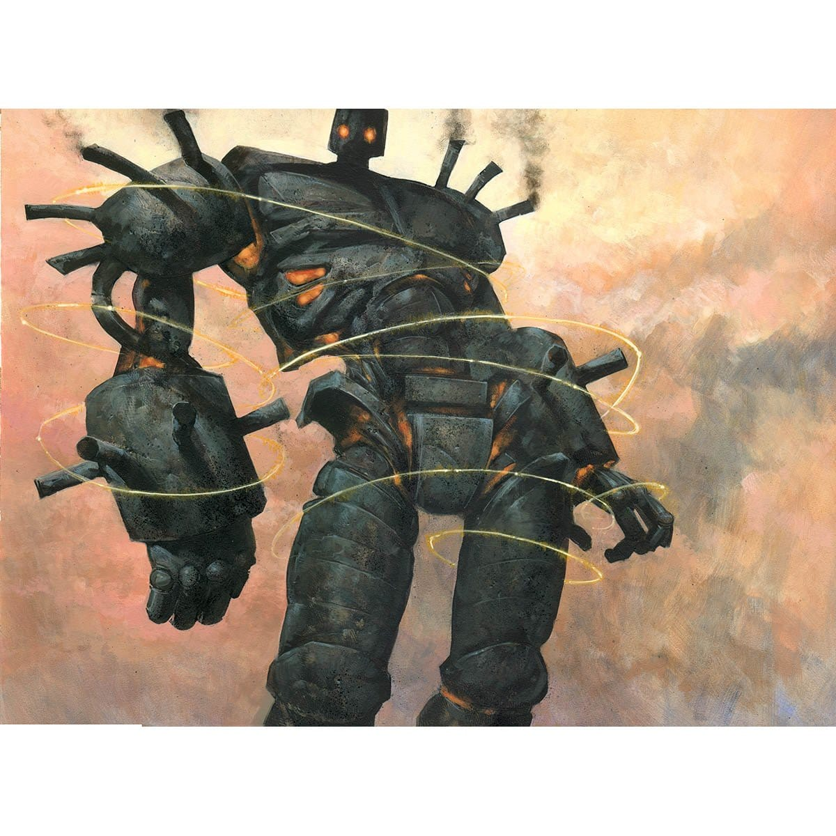 Darksteel Colossus Print - Print - Original Magic Art - Accessories for Magic the Gathering and other card games