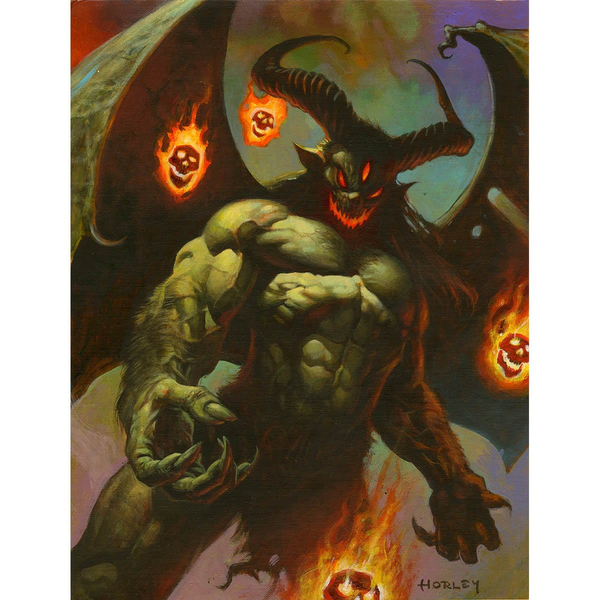 Urami Token Print - Print - Original Magic Art - Accessories for Magic the Gathering and other card games