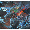 Crypt Battle Print - Print - Original Magic Art - Accessories for Magic the Gathering and other card games