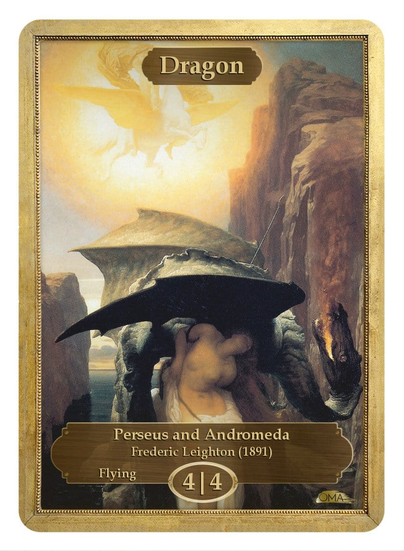 Dragon Token (4/4) by Frederic Leighton