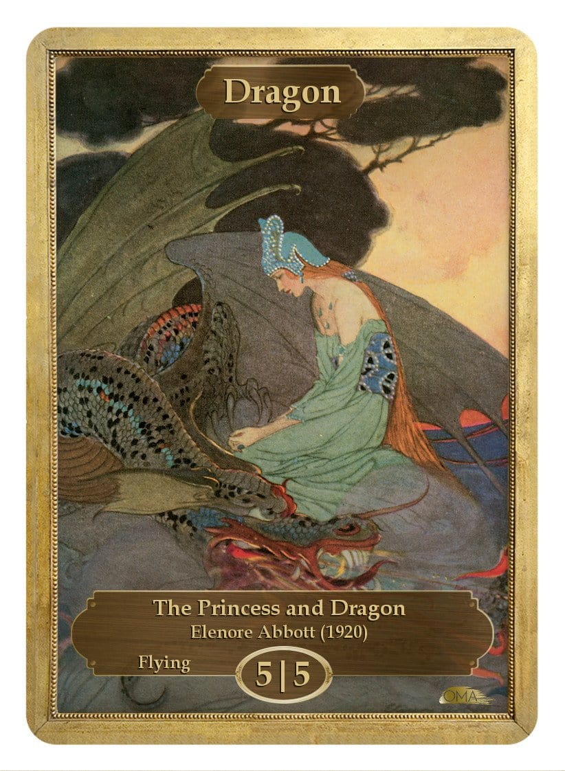 Dragon Token (5/5) by Elenore Abbott